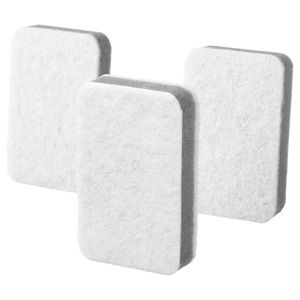 6 pack - 2 Sided Sponge Dish Cleaning Stain Eraser